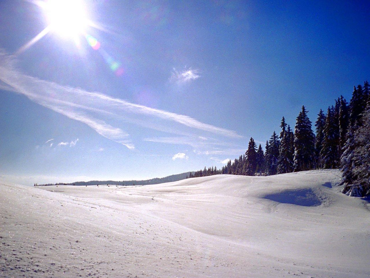 Image Gallery Snow Plains