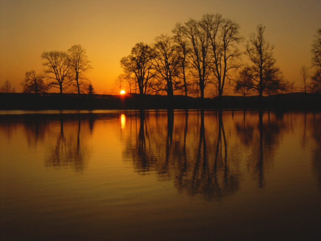 http://www.edenpics.com/pictures/003/en/1024/Edenpics-com_003-005-Sunset-on-a-pond-with-reflection-of-the-trees-in-the-water-Switzerland-St.jpg
